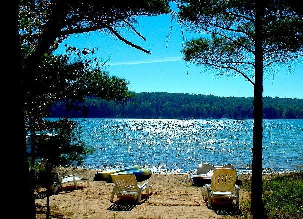 Your private beach.  Free use of 2 kayaks, paddle boat and pontoon boat.