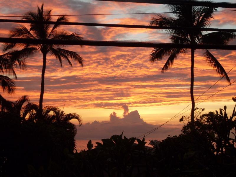 Sunset from our Lani is Fantastic!