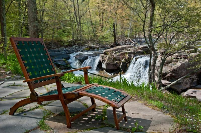 Relax by the waterfalls!