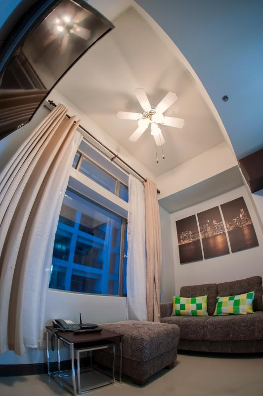 Lighted Ceiling Fan - Living