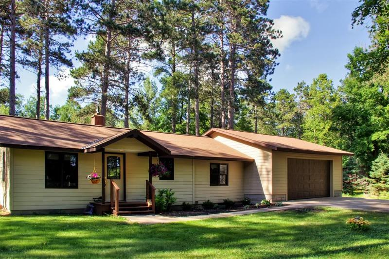 A relaxing getaway awaits you at this serene Crosslake vacation rental cabin!