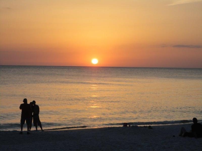 Vanderbilt beach sunset