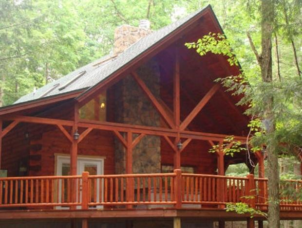 Double Pine Lodge, holiday rental in Logan