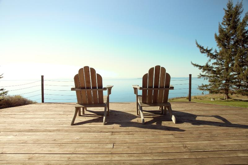 Better than a Corona commercial. Sit on the deck and take in the sea air.