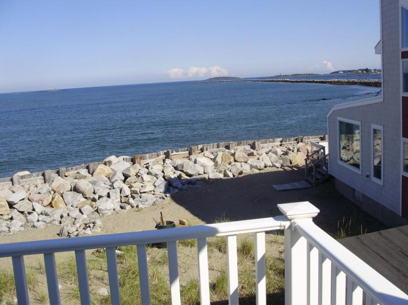View of jetty off master bedroom balcony