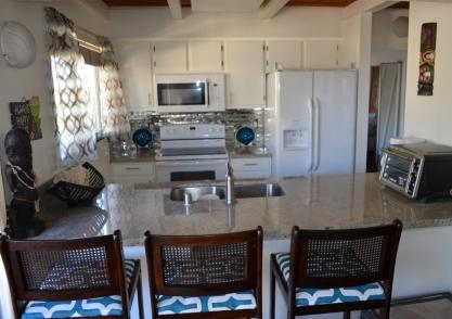 ALOHA Kitchen Bar with Granite & Stainless