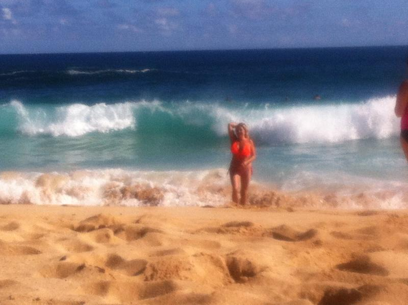 LIFE'S A BEACH BABY, LET'S LIVE IT :) BEAUTIFUL HANALEI BAY!