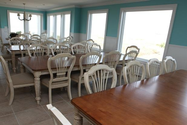 Dining area seats 45 including breakfast bar