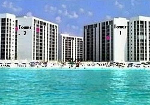 Tower 2 see pink 10th Floor  Tower 1 see pink 8th floor
