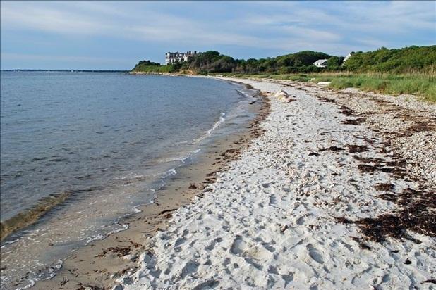 Our beautiful private beach