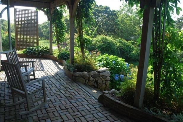 Patio off the bedrooms