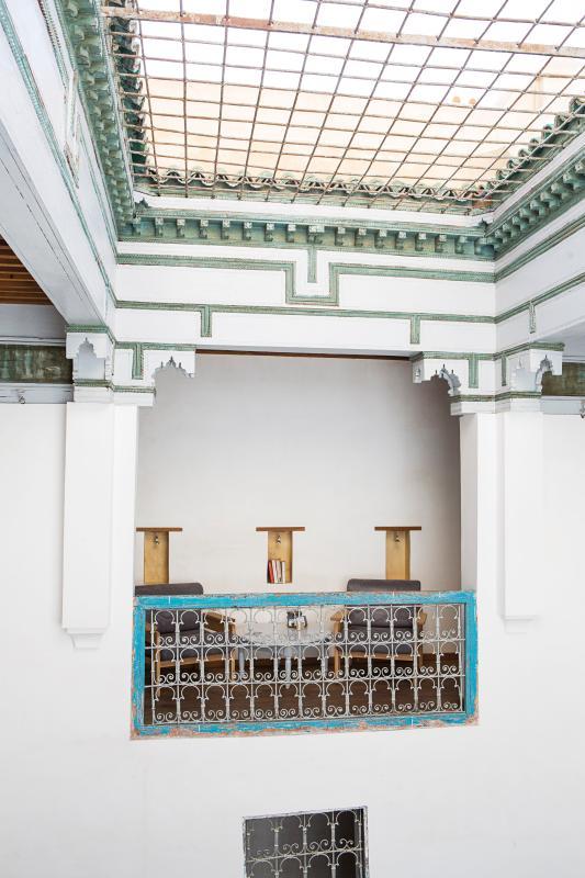 The reading balcony