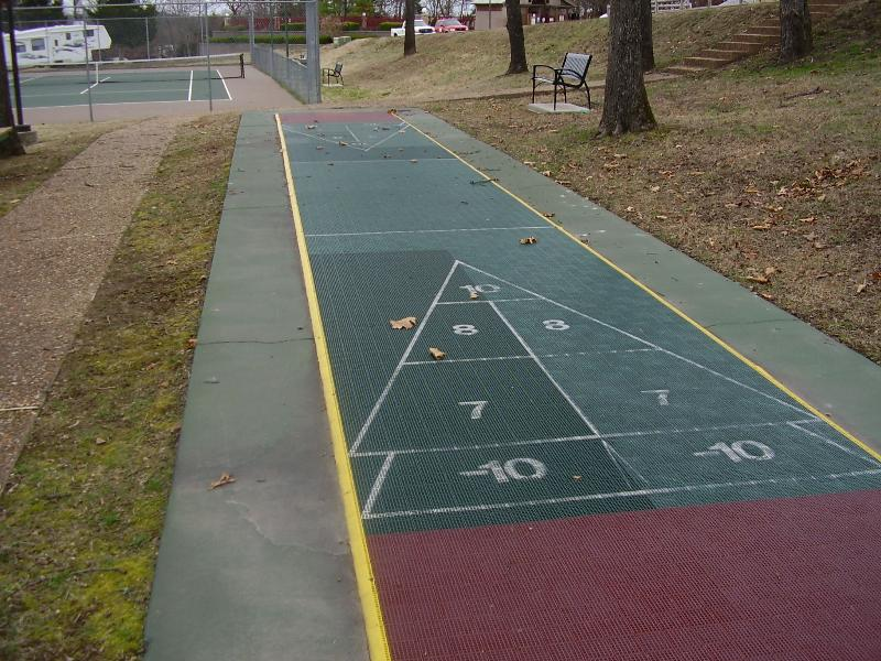 Lawn Shuffle board, same South side area
