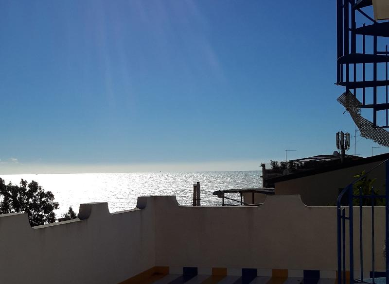 Panoramic terrace with sea view