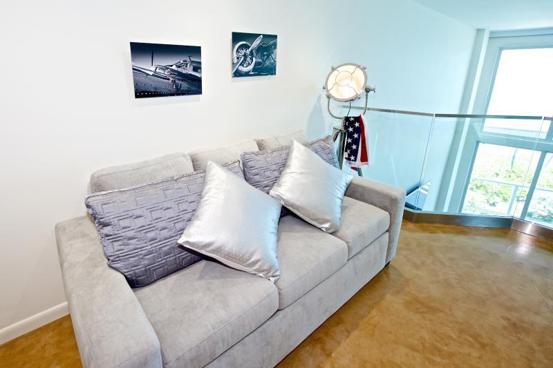 Macy\\\'s Radley fabric full sleeper sofa bed, sleeps 2