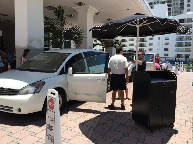 Free Valet parking during your entire stay