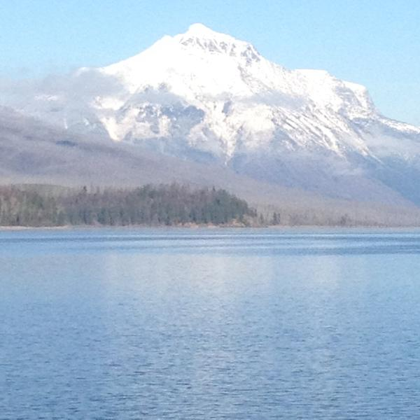 Mt. Stanton and Mt. Vaught- GNP.