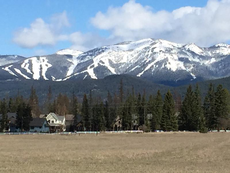 Whitefish Mountain Resort- Big Mountain in Spring.