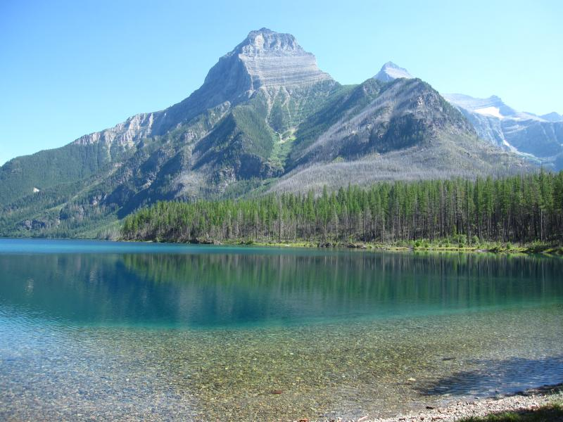 Upper Kintla Lake- GNP.