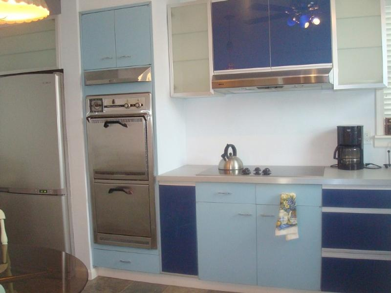 Eat-in kitchen with dishwasher, t.v. and all amenities of home