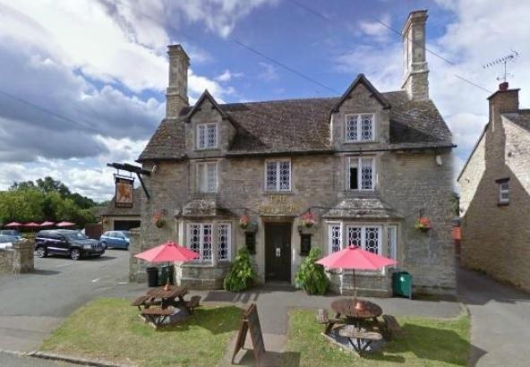 The Red Lion Village Pub with excellent Food