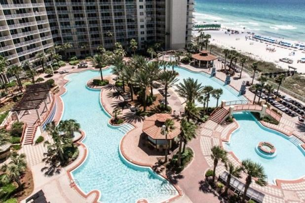 The Largest Resort Pool in the Southern U.S. found