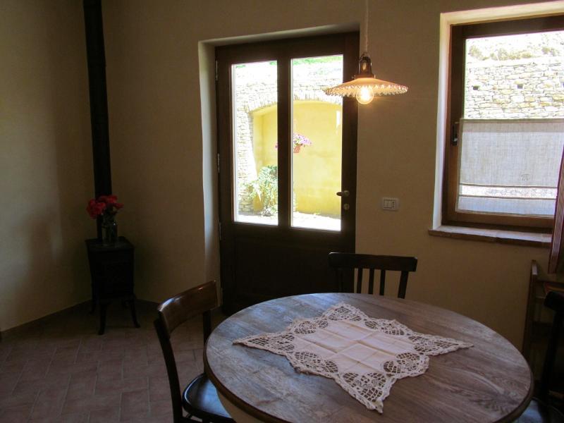 The door to the terrace