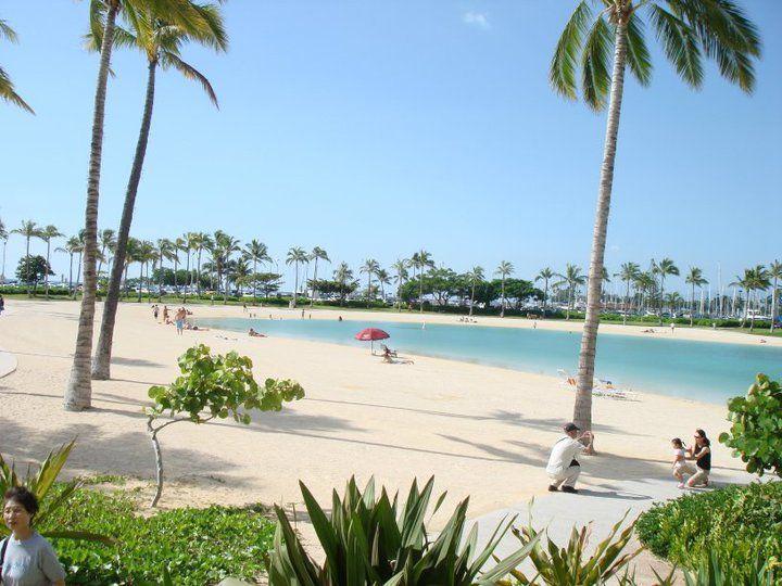 15 miles to Waikiki beach