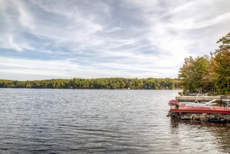 Questa è la posizione ideale sul lago.