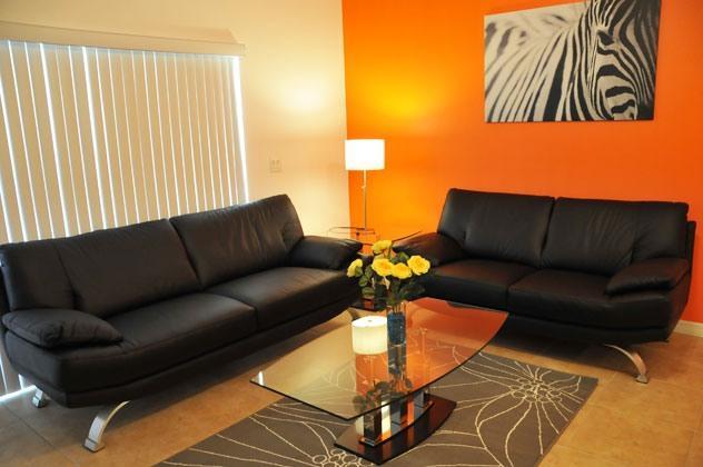 Modern Living Room with Italian Sofa. Disney