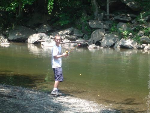 fishing for the kids