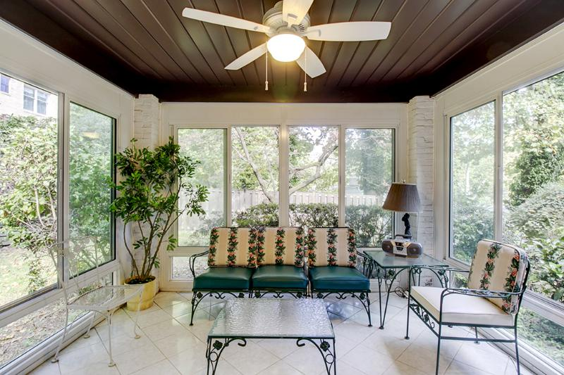 Relax in the sunroom!