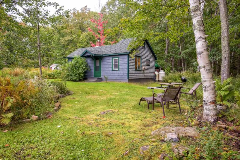 You'll love the naturally beautiful setting of this Camden vacation rental cottage!