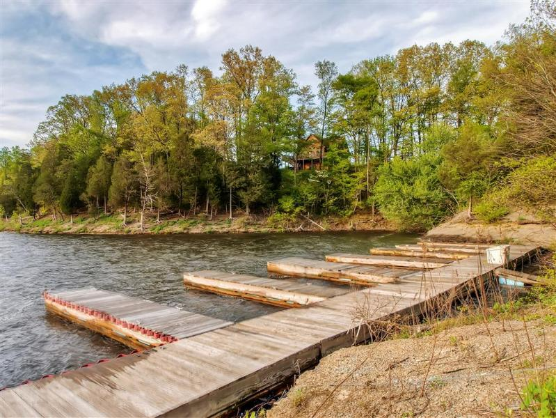 Enjoy use of a private boat dock on the property