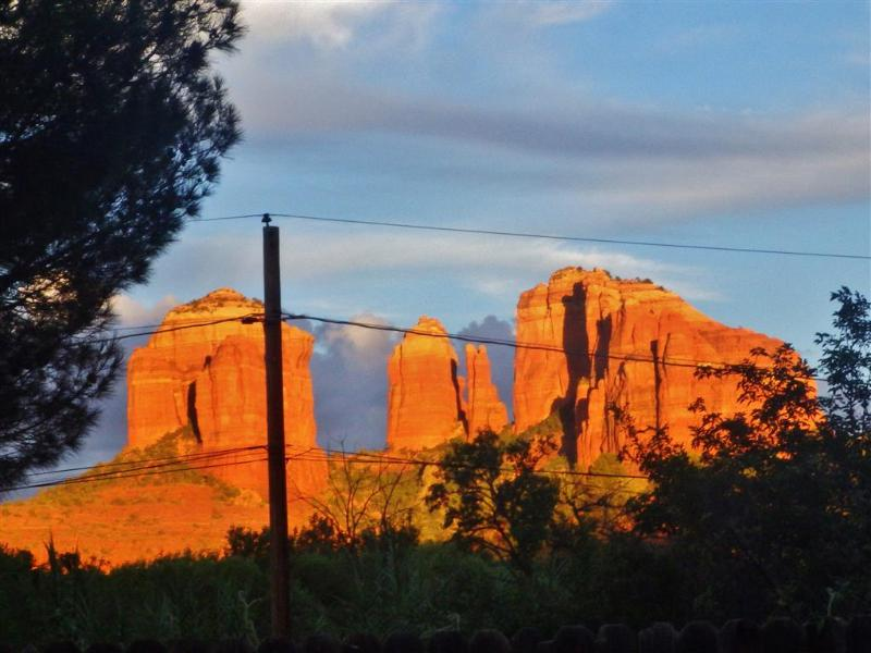These views will be right at your fingertips during your stay at this Sedona home!