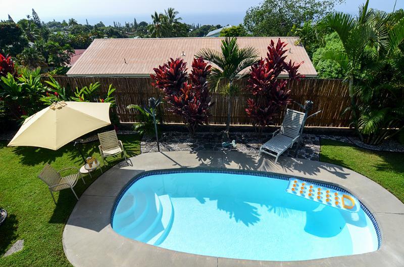Vous aurez votre propre piscine privée à Kailua-Kona!