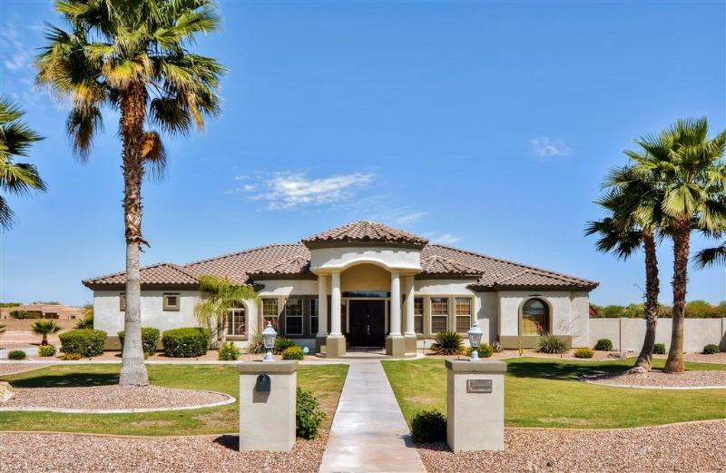 Have the Arizona getaway of a lifetime at this custom-built Goodyear vacation rental house!