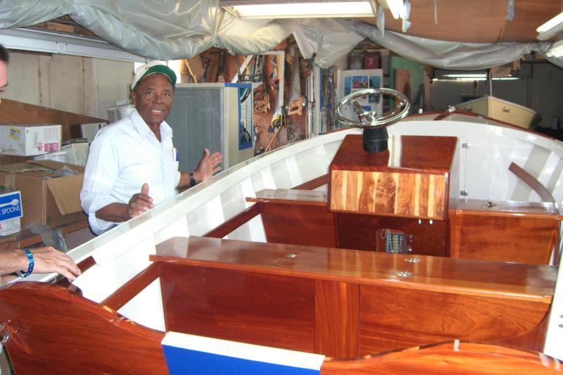 Ansil Saunders - Bimini Boat Factory