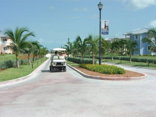 Bimini Bay Resort Streets