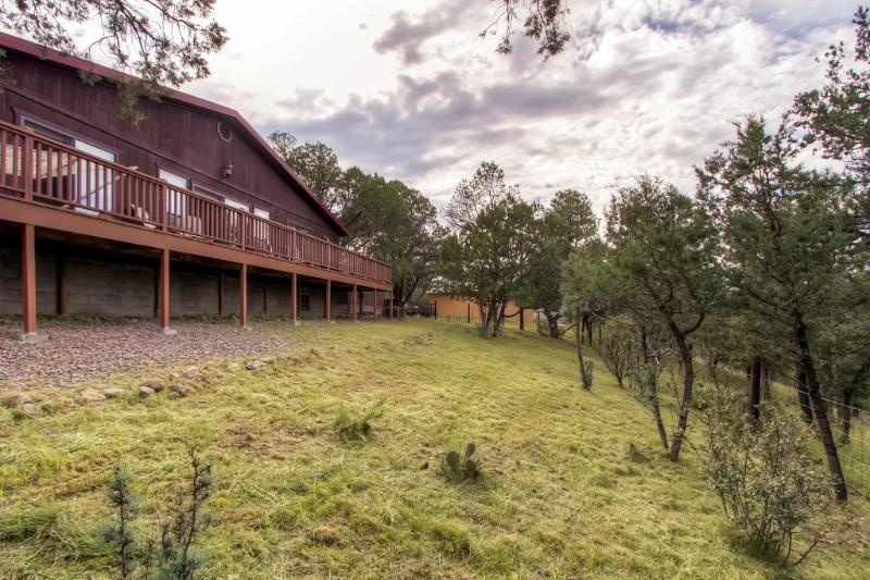 Immerse yourself in New Mexico's natural splendor when you stay at this spectacular Silver City vacation rental cabin!