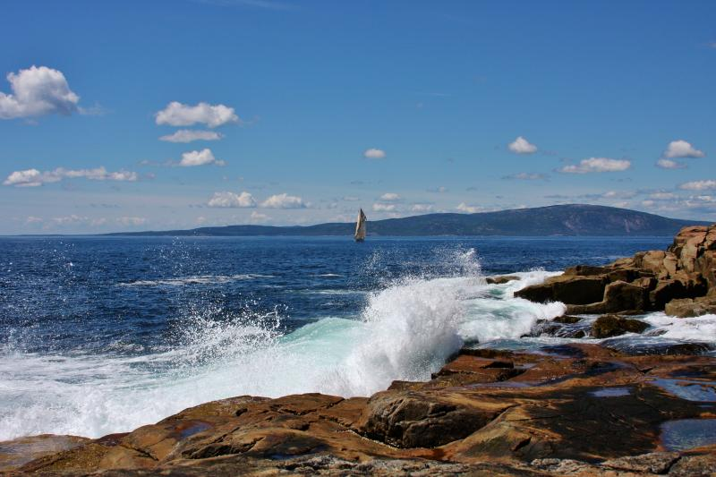 Nearby Schoodic Point