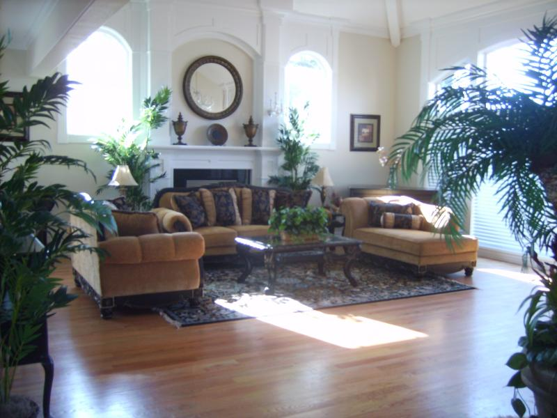 Family Gathering Place:  Elegant yet Comfortable