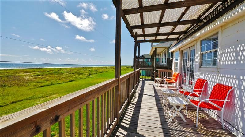 Enjoy unobstructed ocean views from this dreamy Galveston, Texas vacation rental home!