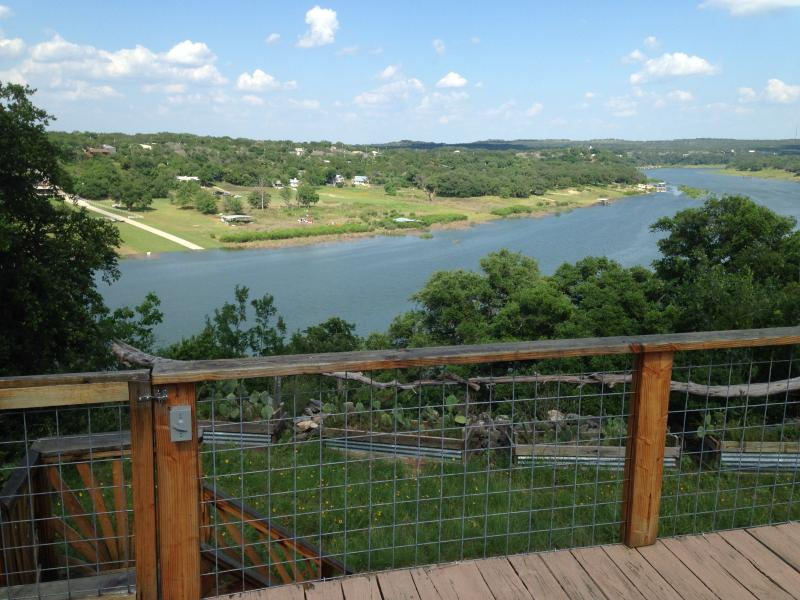 An unforgettable retreat awaits you at 'The Cloud House,' a 3-bedroom, 2-bath vacation rental house in Spicewood, Texas!