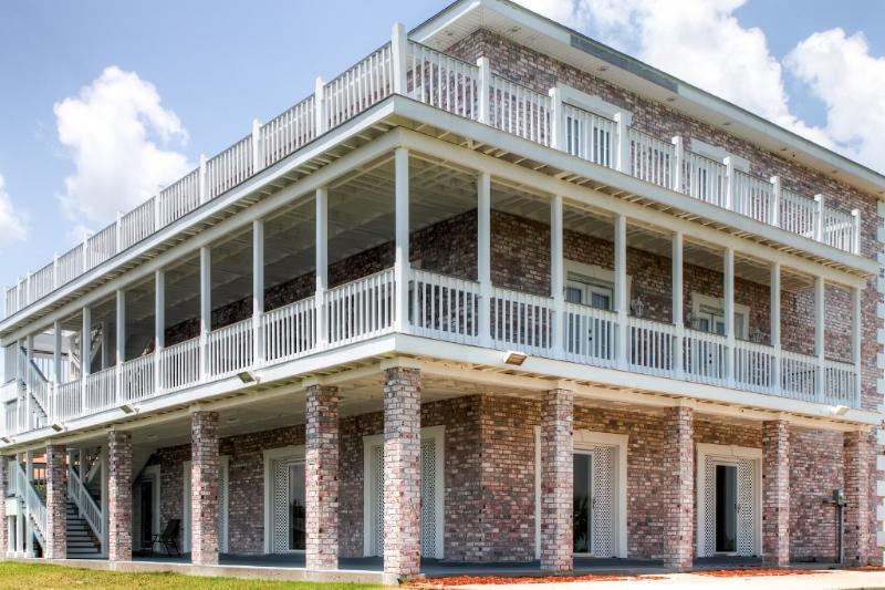 You'll love the vast amount of deck space at this New Orleans vacation rental villa!