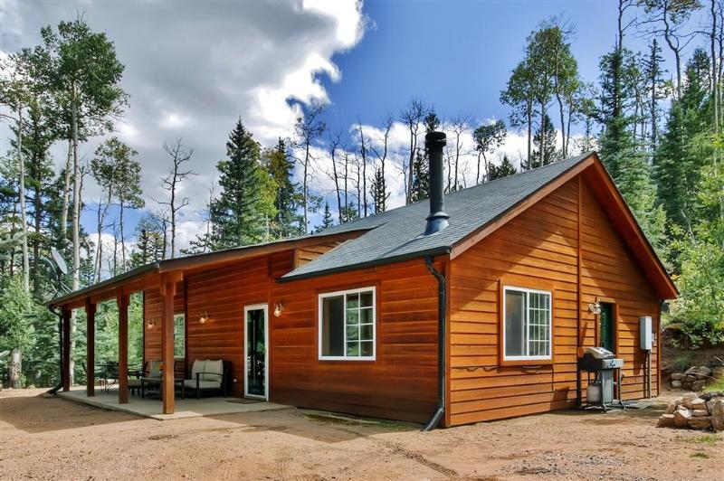 Deje que esta encantadora cabaña de alquiler de vacaciones de Como servir como su base definitiva en las Montañas Rocosas!