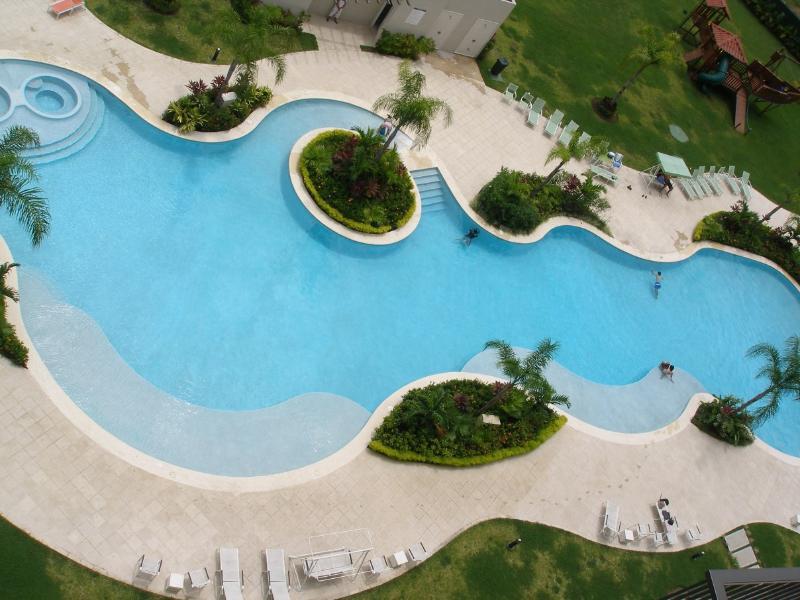 Baía de Jaco Costa Rica piscina (áreas comuns)