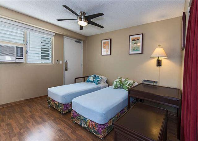 Las camas Bahama en la sala de estar