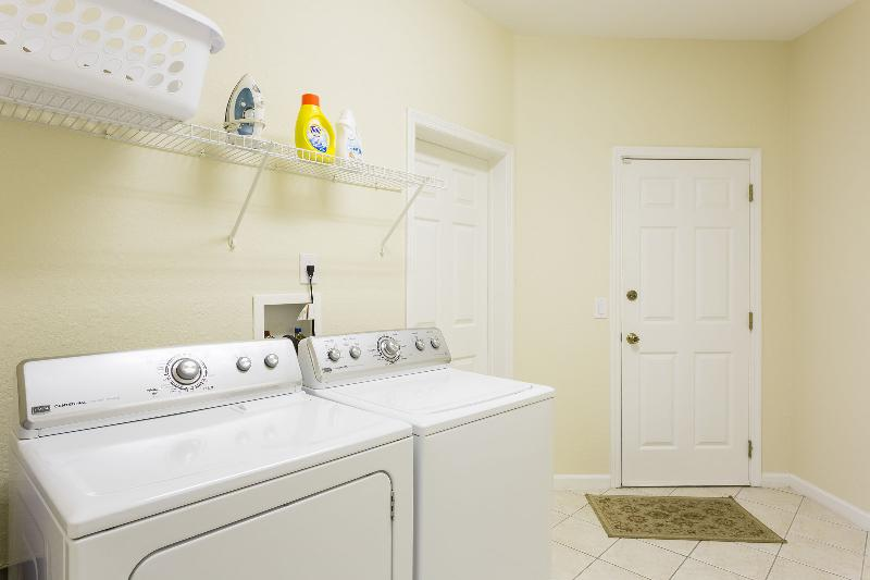 In home laundry facilities