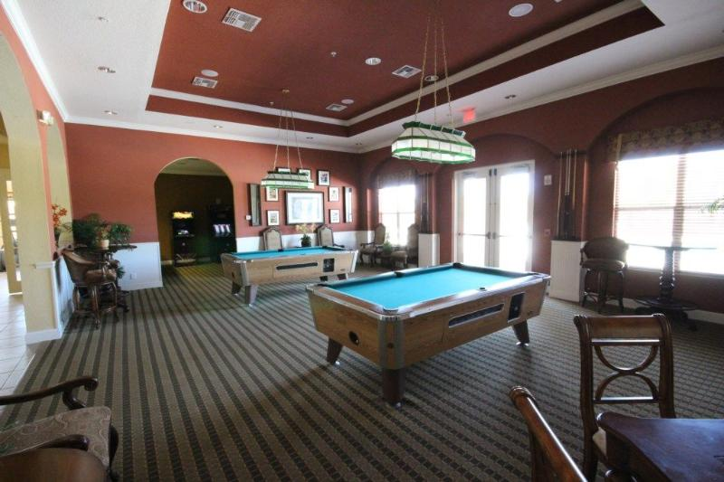 Community game room at club house